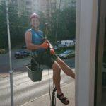 Mycie okien na wysokości katowice