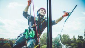 Mycie okien nieotwieranych